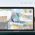 Saracen Technology Website design