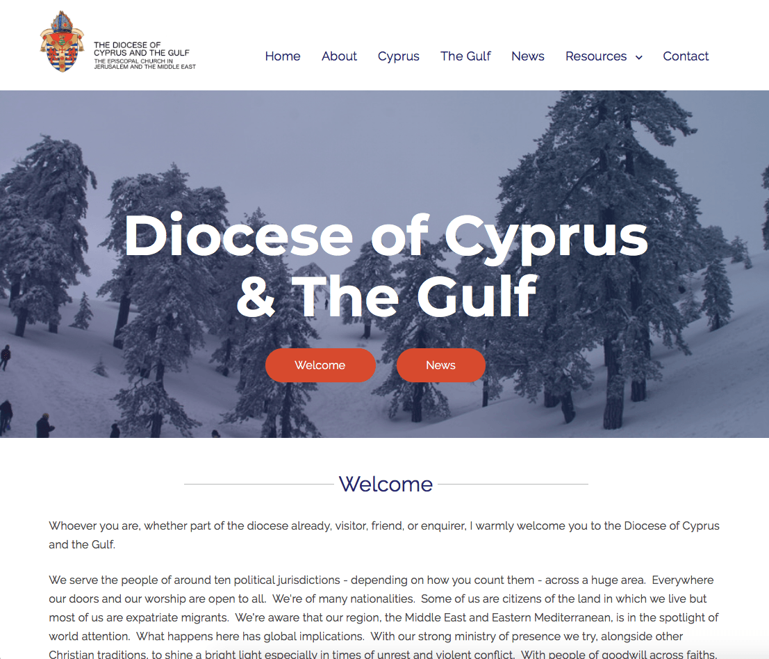 Diocese of Cyprus and The Gulf